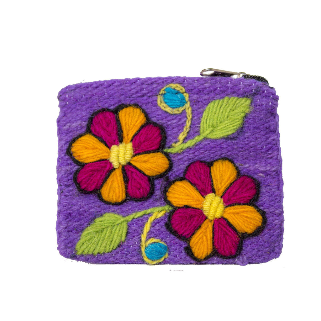 Coin Purse Purple