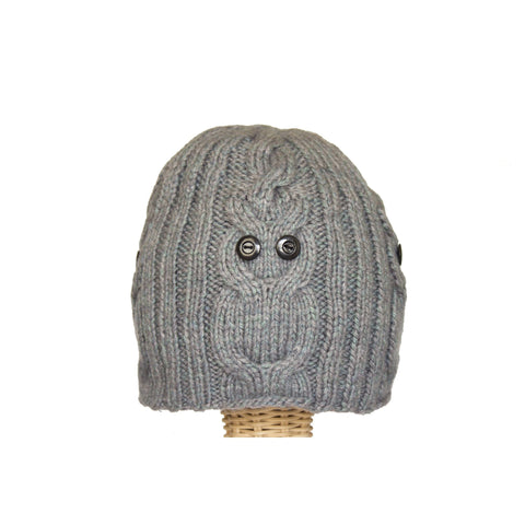 Owl Hat Gray