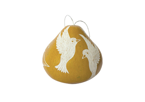 Dove Natural Ornament
