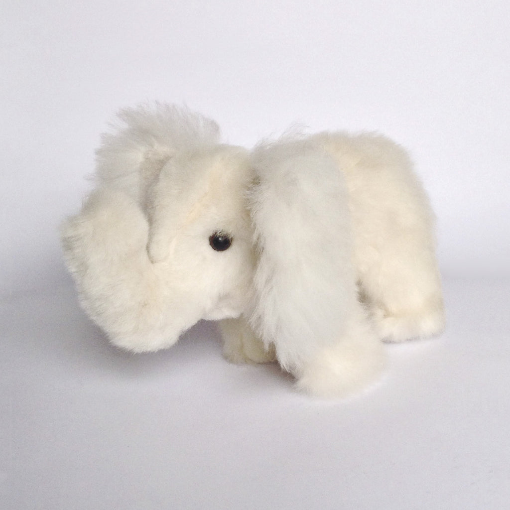 Alpaca Stuffed Animal White Elephant