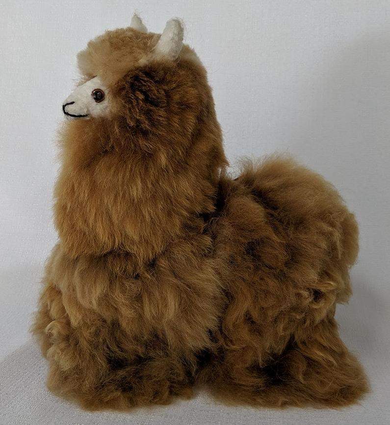 Jumbo Llama Brown  Stuffed Animal