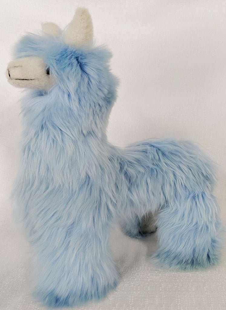 Jumbo Alpaca Baby Blue Stuffed Animal Stuffed Animal