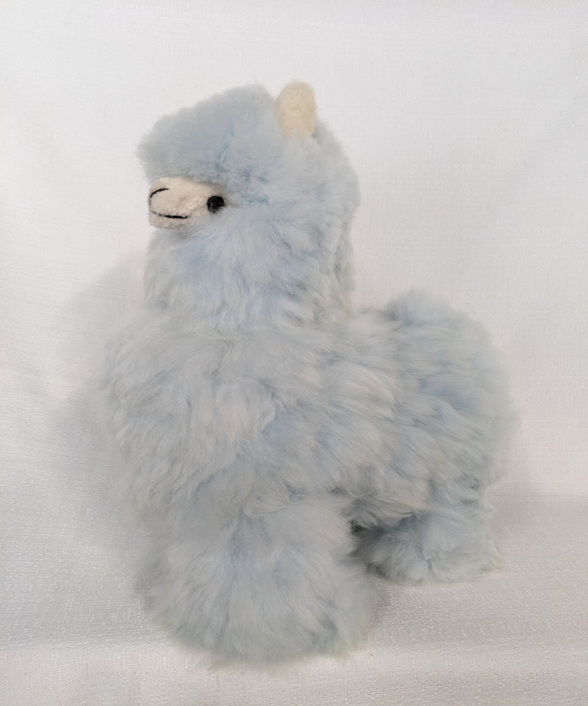 Jumbo Llama Baby Blue  Stuffed Animal