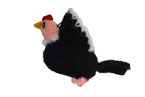 Hand Knitted Condor Ornament