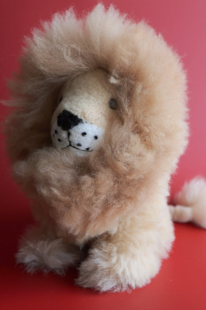 Jumbo Alpaca Lion  Stuffed Animal