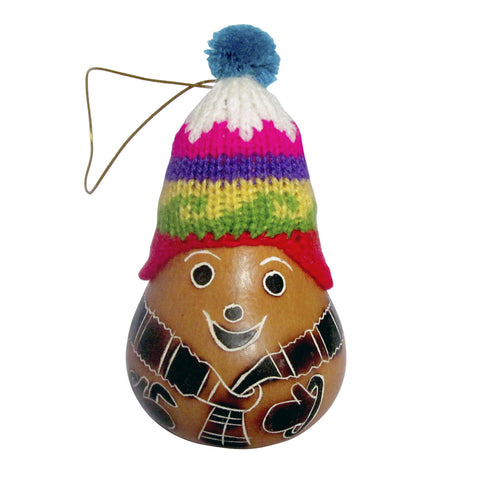 Inca Santa Ornament
