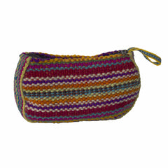 Hand woven Pouch Bag Red