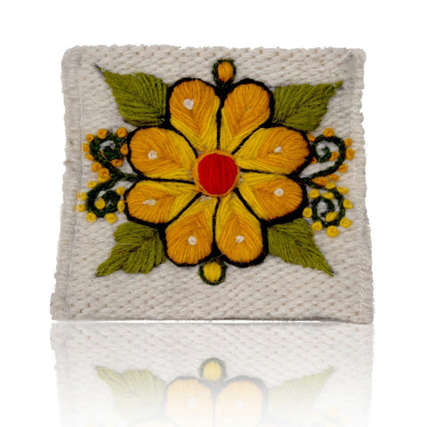 Coin Purse White
