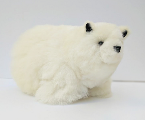 Alpaca Stuffed Polar Bear