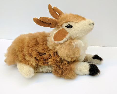 Stuffed Animal Holiday Deer