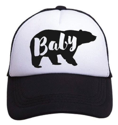 Tiny Trucker - Baby Bear Hat