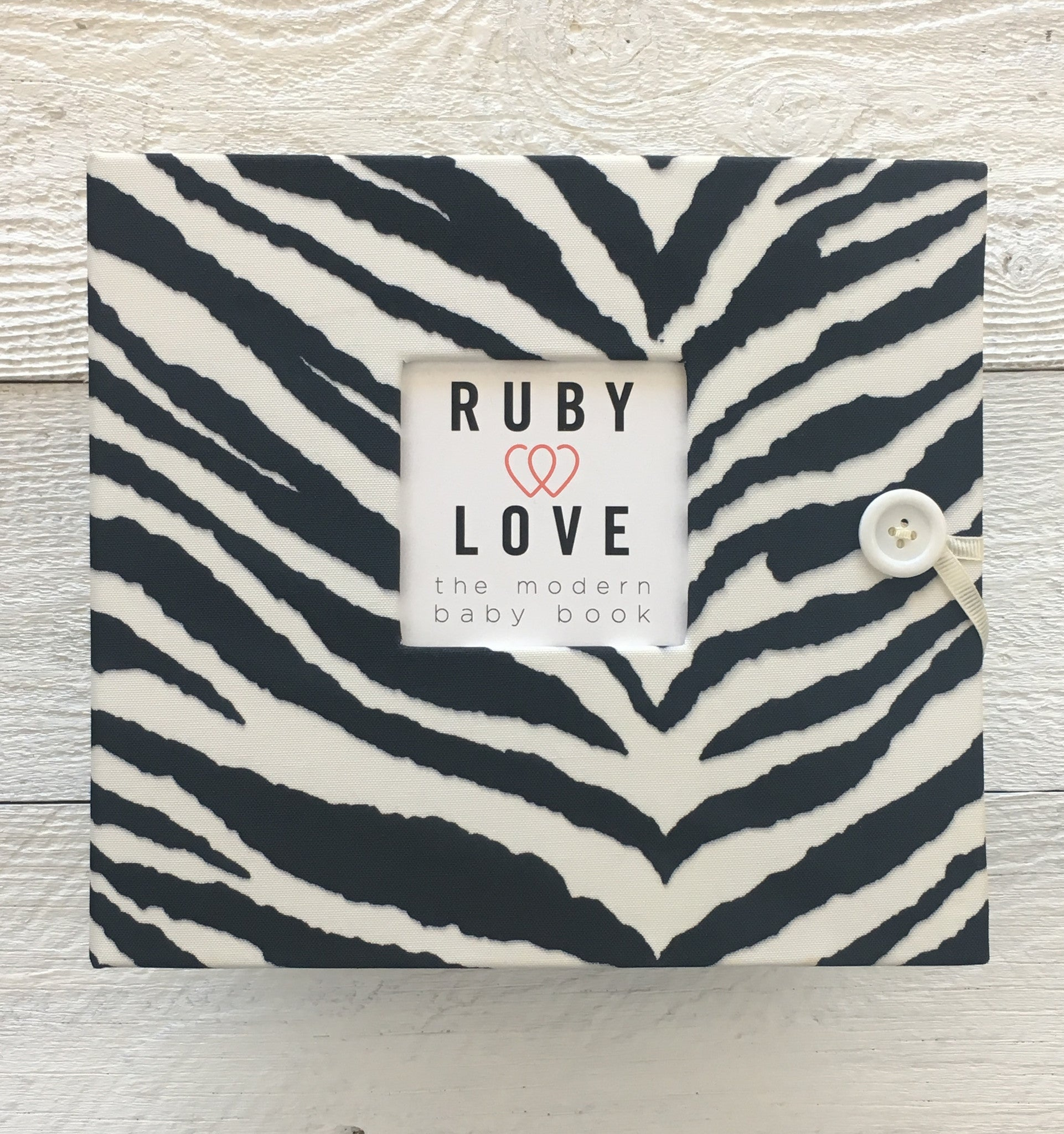 Zebra Stripe | Baby Book