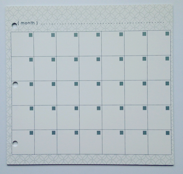Extra Calendar Pages