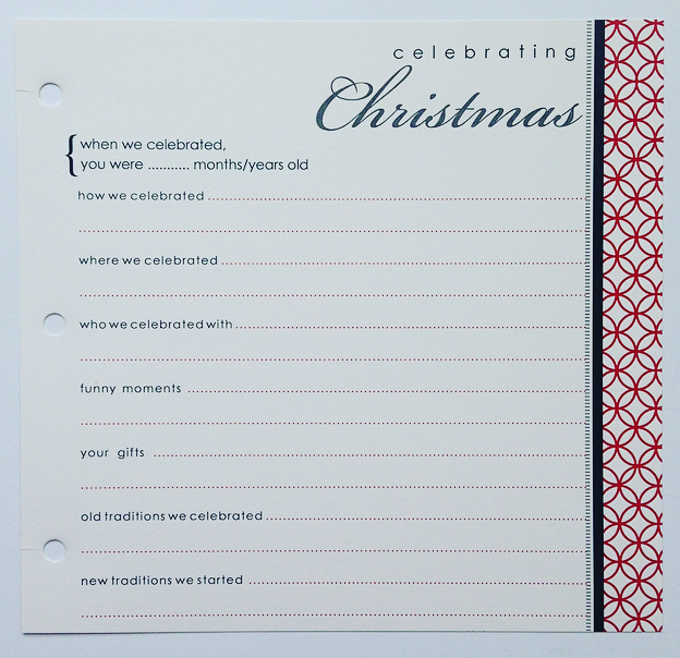 Celebrating Holidays Page Pack