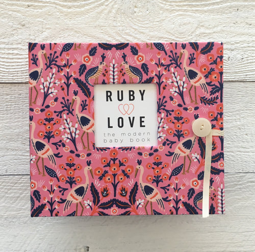 Rifle Paper Co. Tapestry Rose | Baby Book