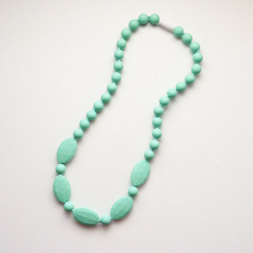 Fully Beaded Silicone Teething Necklace