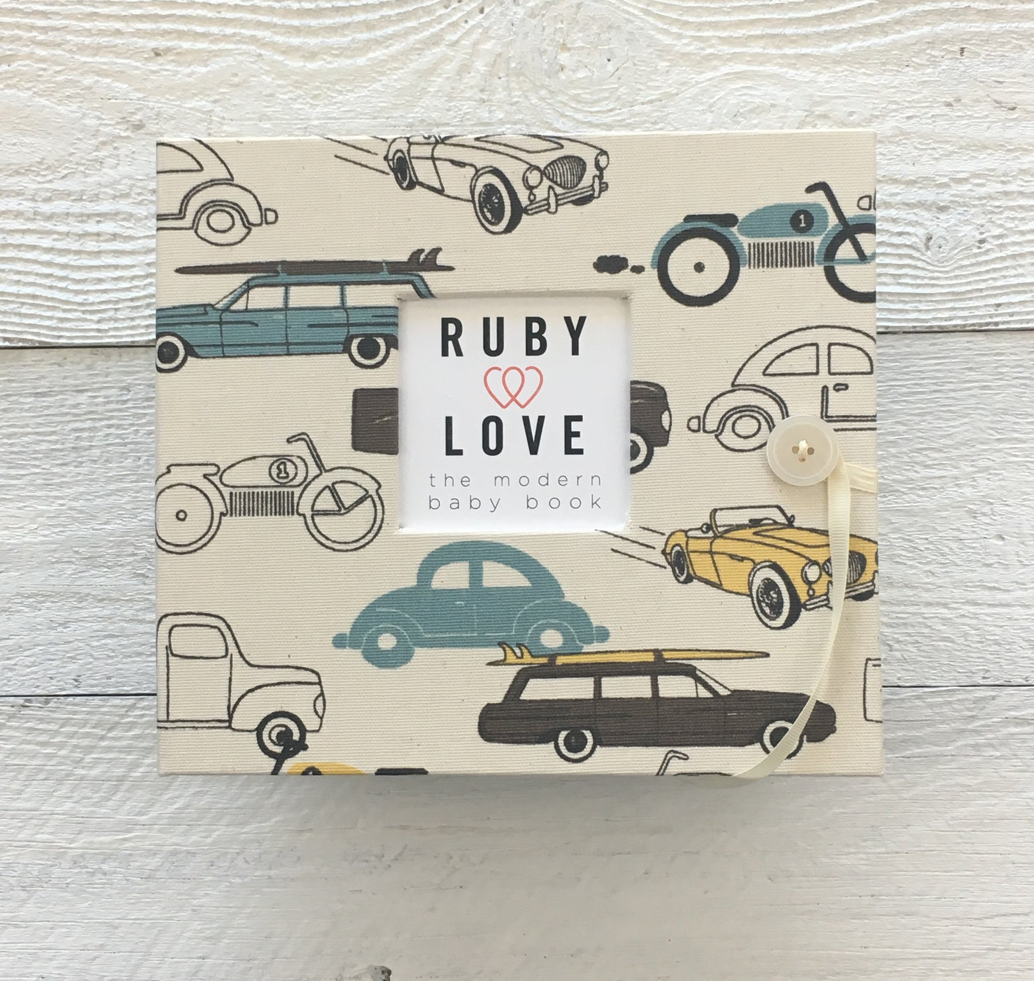 Vintage Cars | Baby Book
