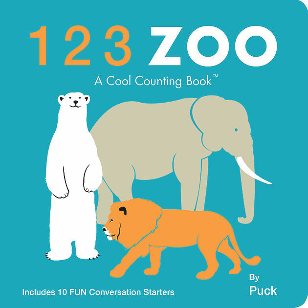 123 Zoo Board Book by Puck