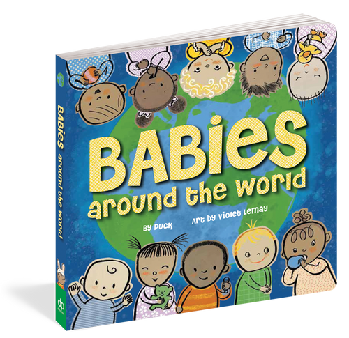 Babies Around the World Board Book by Puck