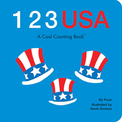 123 USA Board Book by Puck