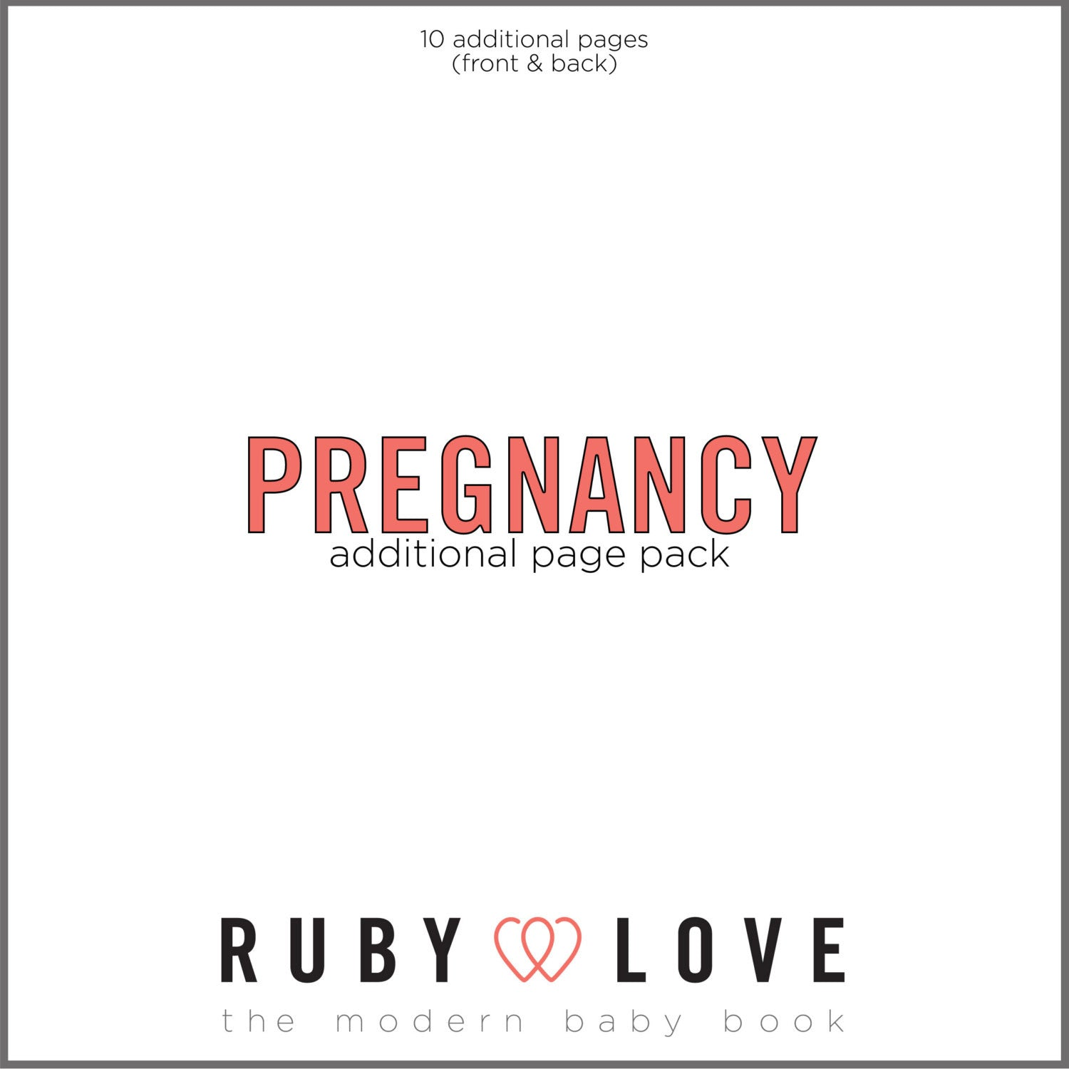 Pregnancy Page Pack