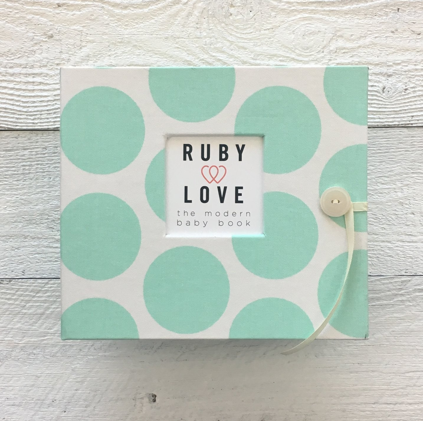 Mint Dot | Baby Book