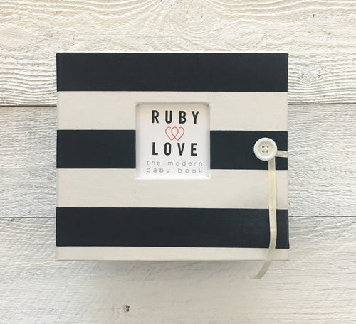 Canopy Stripe Album/Binder Only