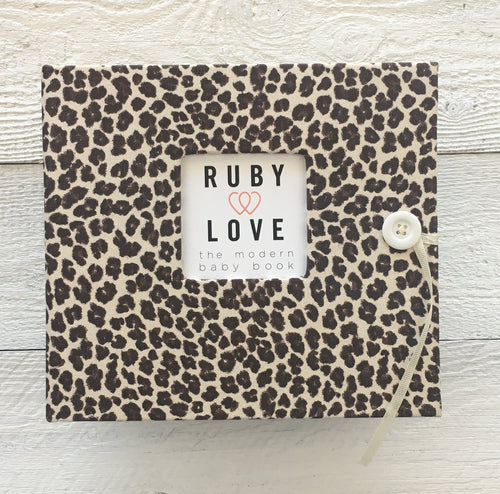 Chocolate Leopard Album/Binder Only