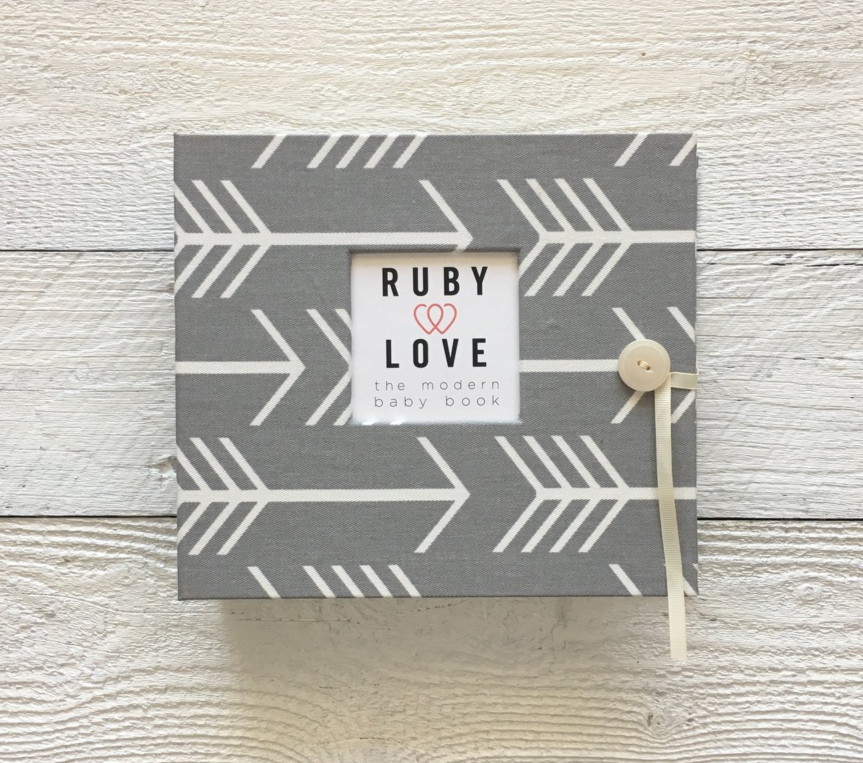 Arrows Silhouette | Baby Book