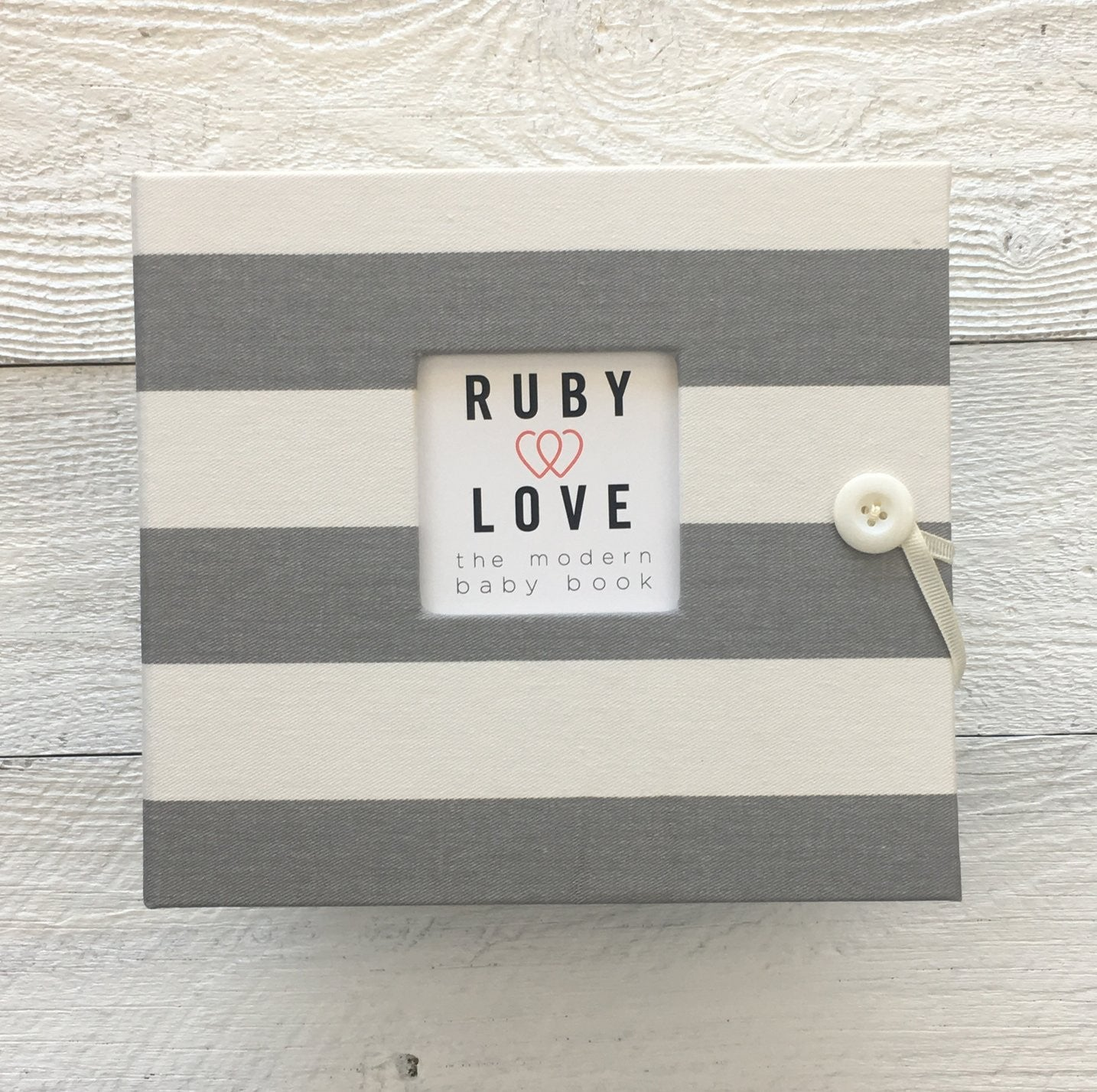 Canopy Stripe | Baby Book