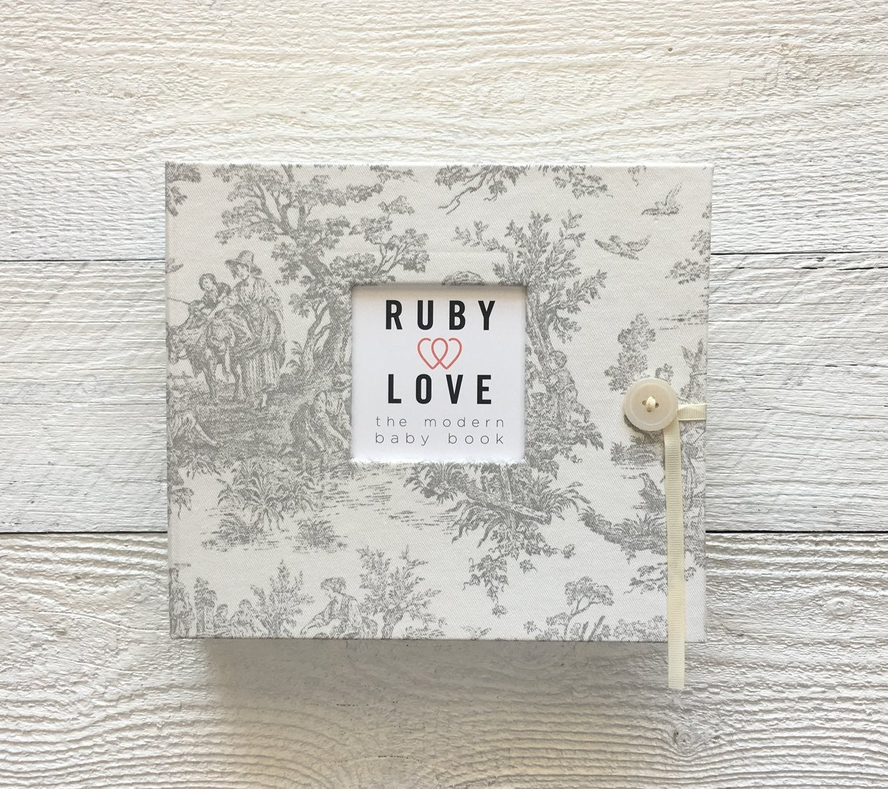 Vintage Jamestown | Baby Book