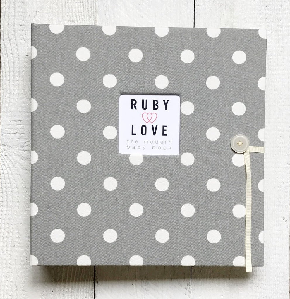 Polka Dot | School Years Memory Book