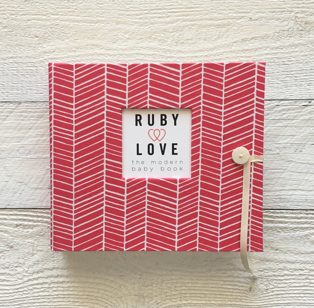 Herringbone | Baby Book