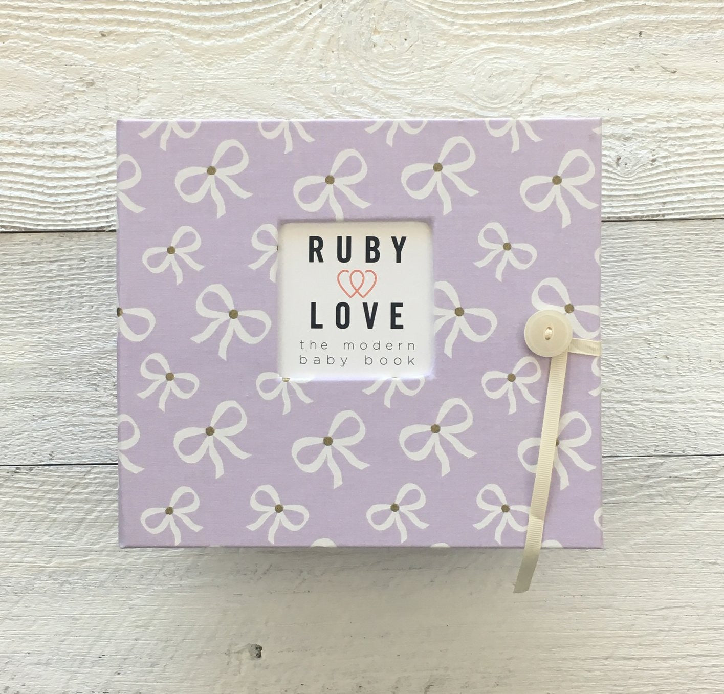 Girly Bows | Baby Book