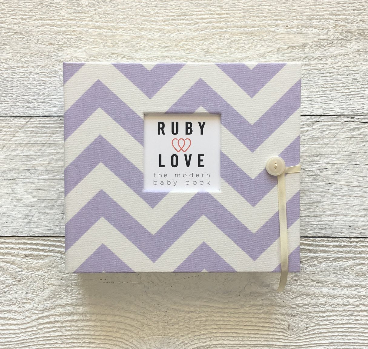 Chevron Stripes | Baby Book