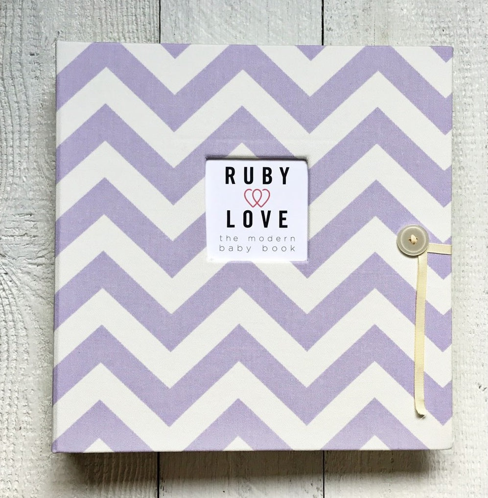 Chevron Stripes | School Years Memory Book