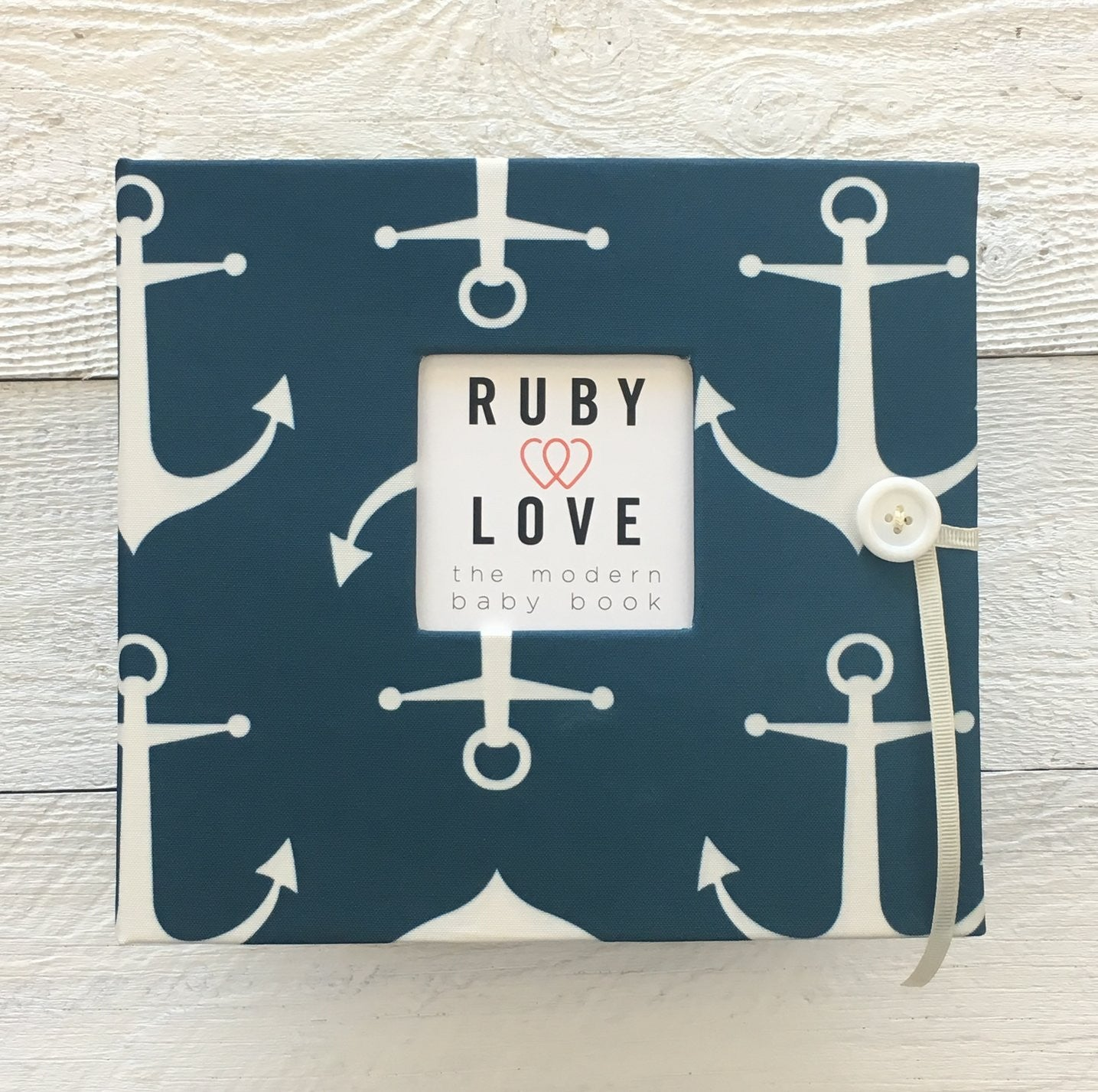 Sailor Anchors | Baby Book