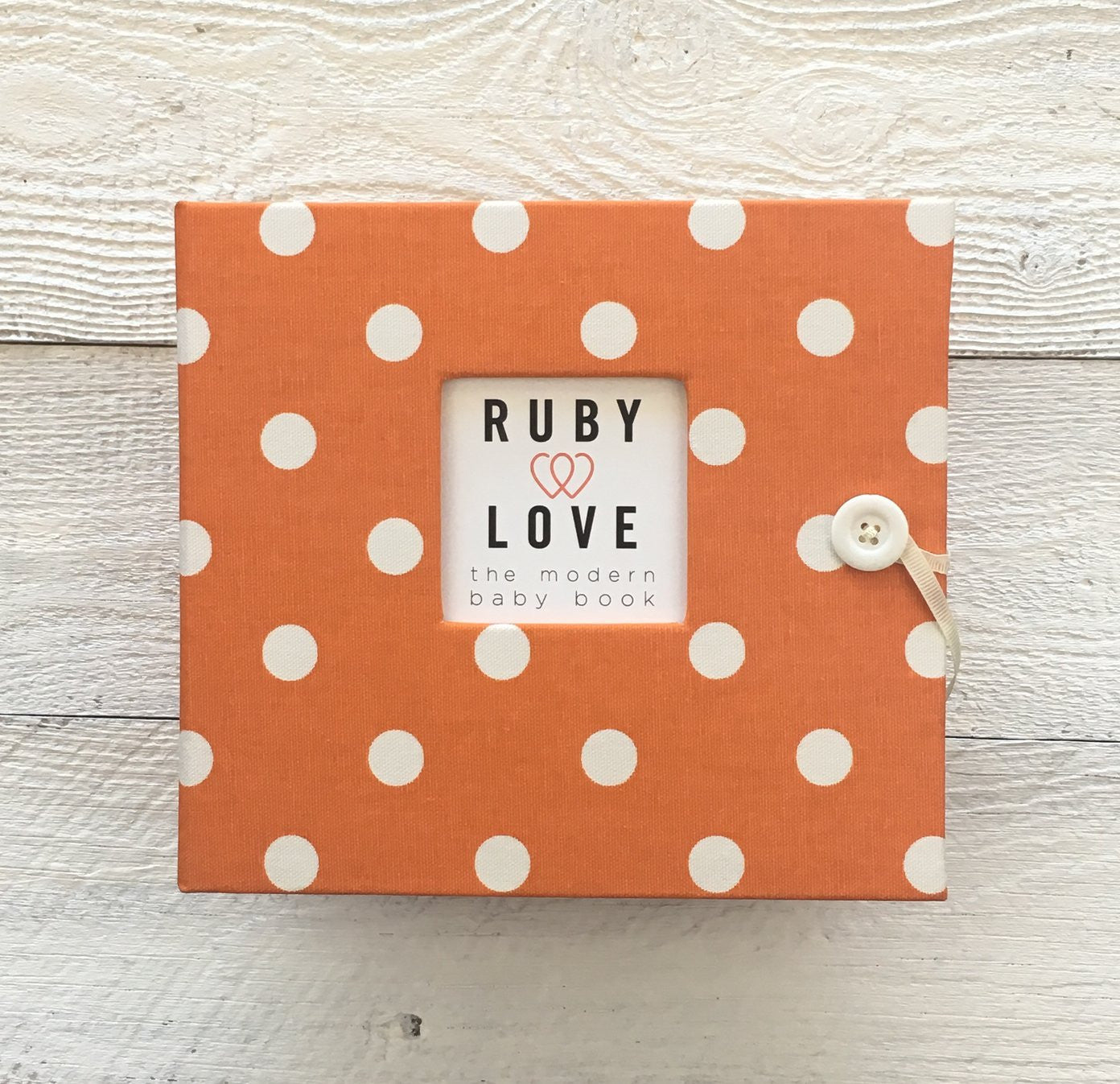 Polka Dot | Baby Book