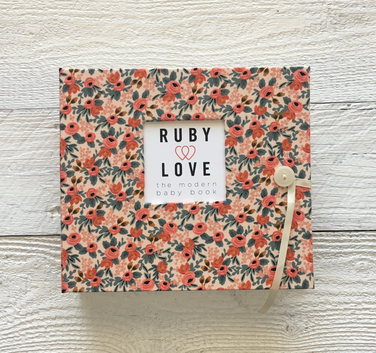 Rifle Paper Co. Rosa Floral | Baby Book