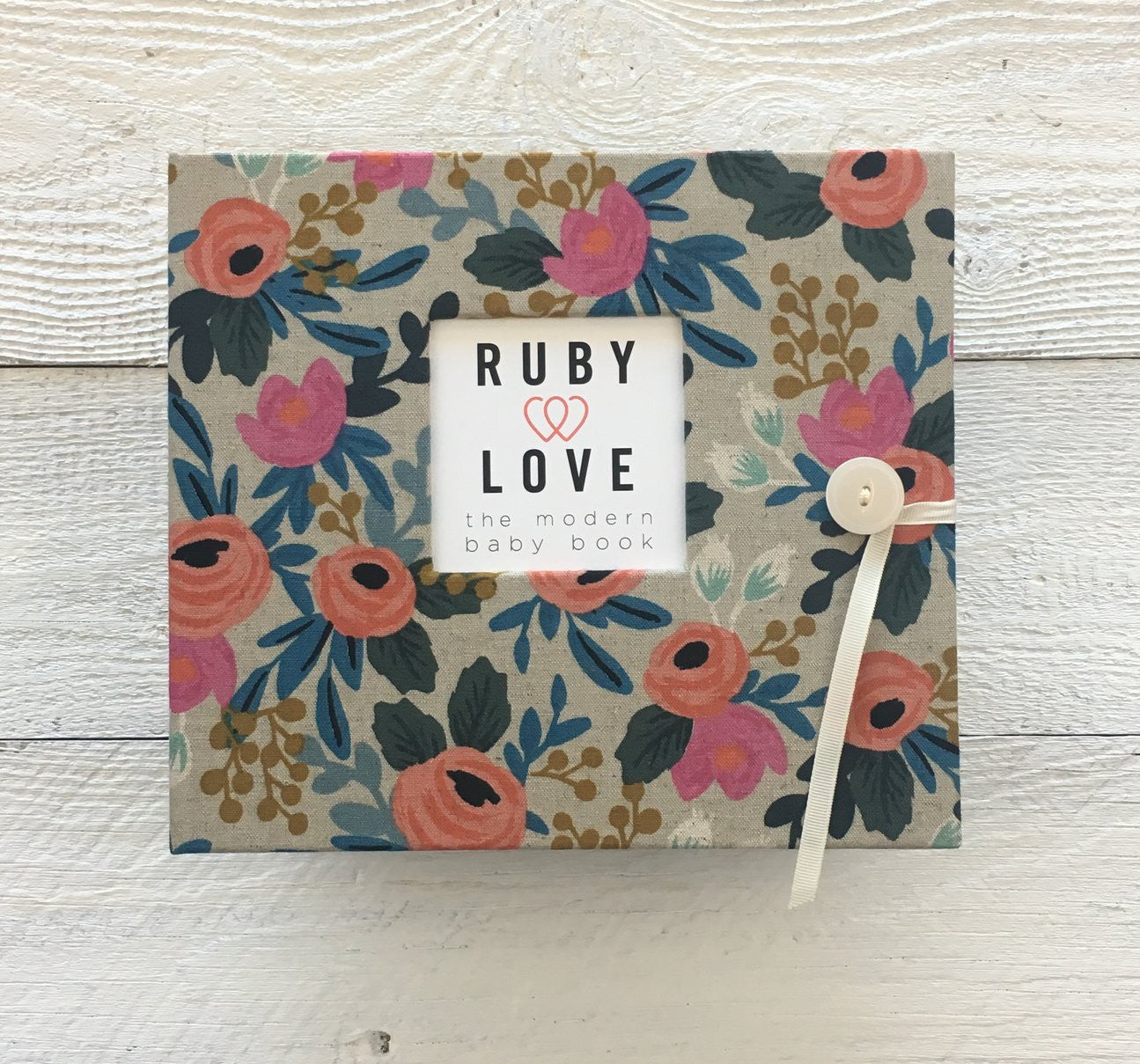 Rifle Paper Co. Rosa Natural | Baby Book