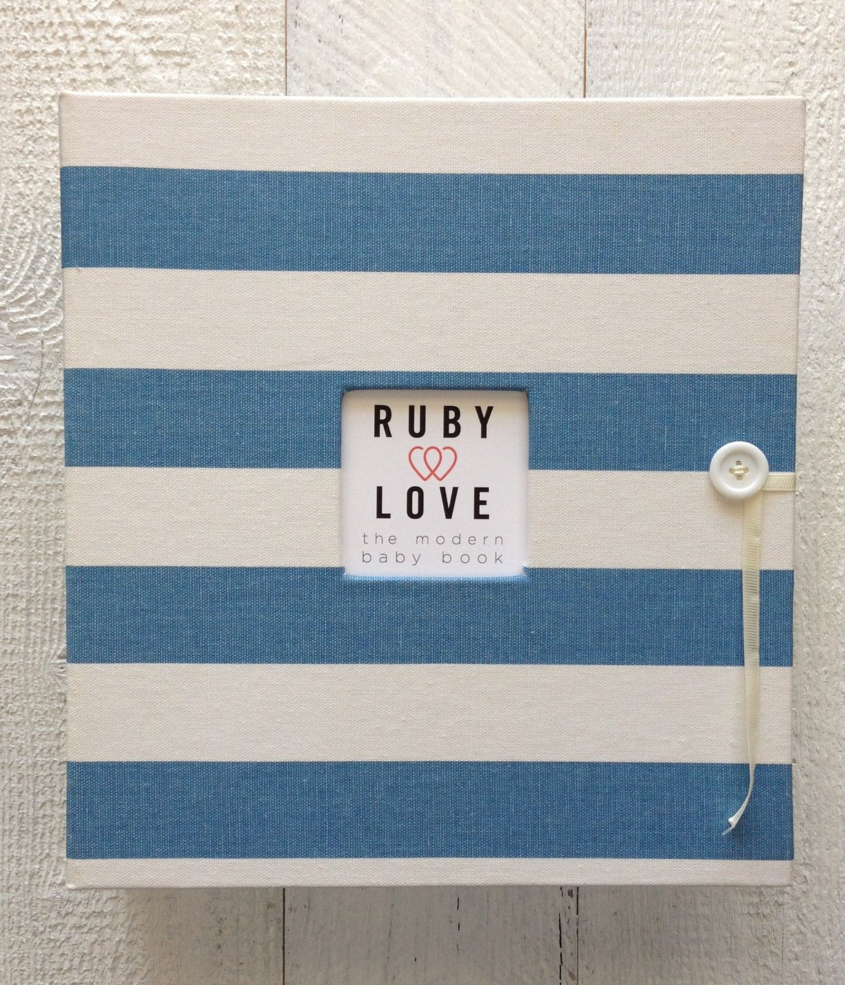 Canopy Stripe | School Years Memory Book