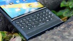 BB Priv keyboard