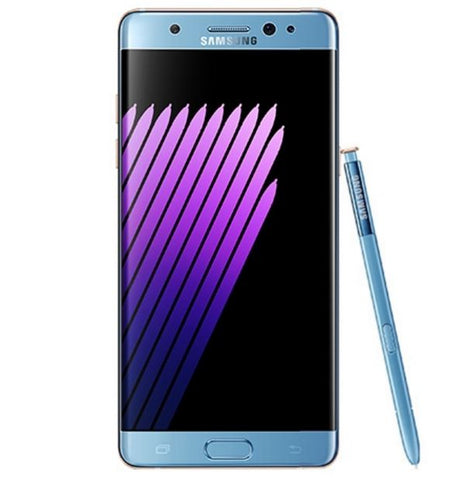 note 7 blue