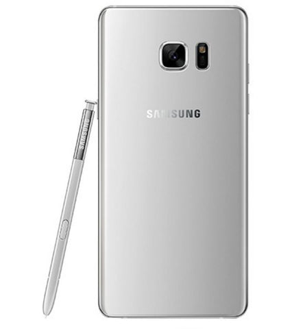 Note 7 silver