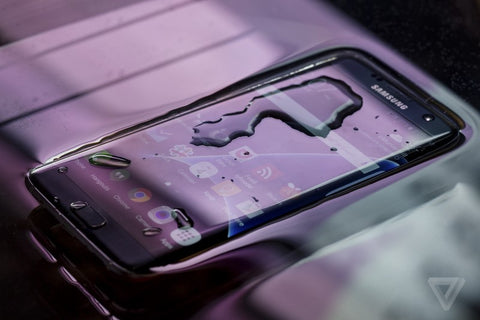 galaxy S7 water resistance
