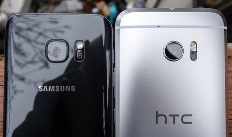 HTC10 vs Samsung S7 camera