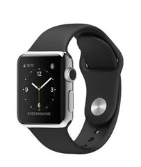 Apple Watch 38mm with Black (Чёрный) Sport