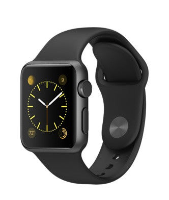 Apple Watch Sport 42mm Gray with Black Sport