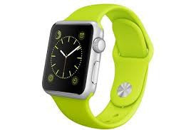 Apple Watch Sport 42mm Silver with Green Sport