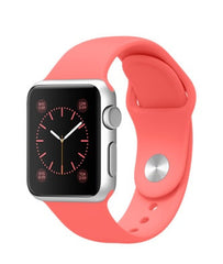 Apple Watch Sport 38mm Silver with Pink Sport